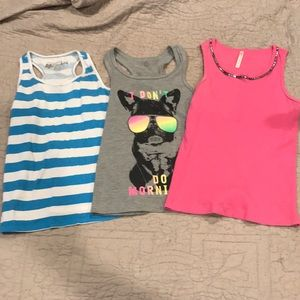 Other - Set of 3 tank tops, size 10/12